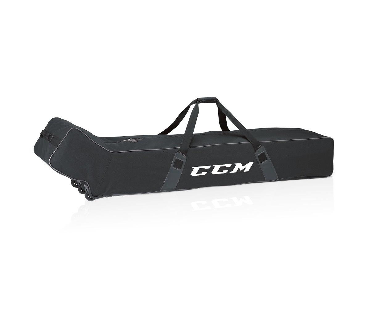 """Taška CCM Stickbag Team Wheeled - Na hokejky, 71"""", černá"""